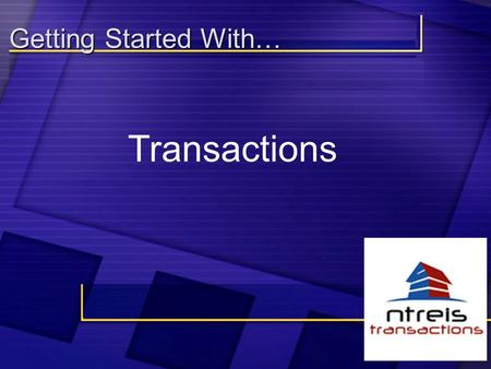 "Getting Started With… Transactions. Watch for your ""Welcome"" email Sally Spender ********** This email will contain your Username and Password as well."