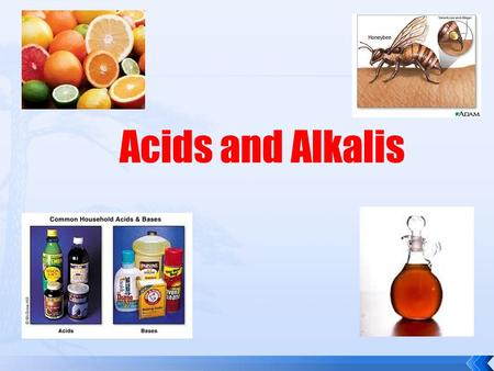 Acids and Alkalis. Solutions can be sorted by whether they are: acid, alkali or neutral. When a substance dissolves in water it makes a solution.