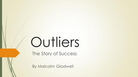 Outliers: The Story of Success Chapter 9 Summary