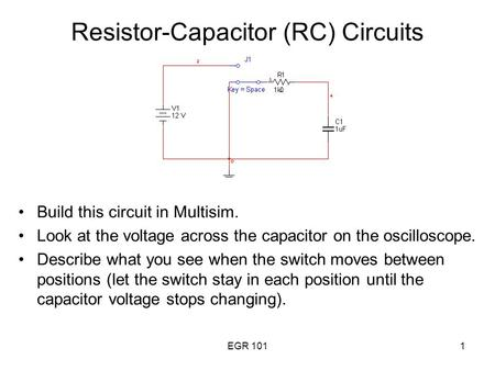 Resistor-Capacitor (RC) Circuits