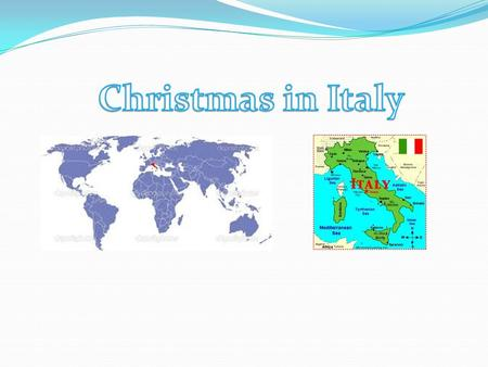 The Christmas season in Italy goes for three weeks, starting 8 days before Christmas known as the Novena. During this period, children go from house to.
