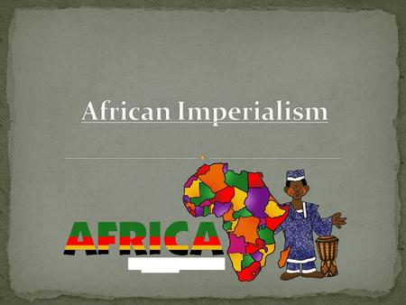 Imperialism is the policy of extending a nation's power by taking possession of other lands. Claiming the land gave the nation economic and political.