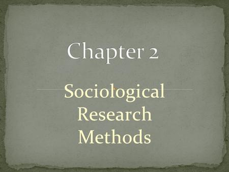 Sociological Research Methods. Survey Research - Interview - Questionnaire - Closed- end Questions - Open- ended Questions.