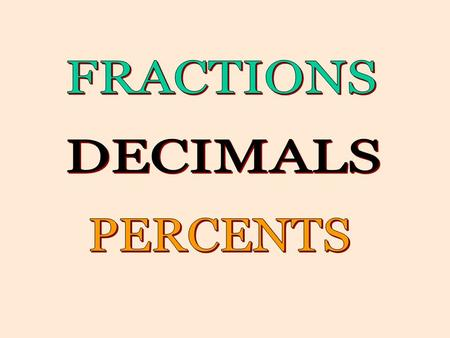 Expressas a decimal. Expressas a decimal. How to Convert Fractions to Decimals 100 23 This is the hundredths place so the 3 needs to be in the hundredths.