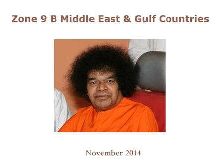 Zone 9 B Middle East & Gulf Countries November 2014.