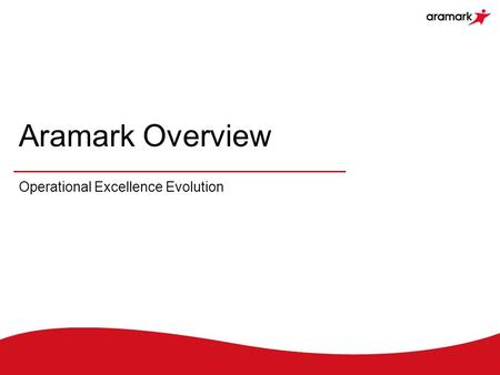 Operational Excellence Evolution