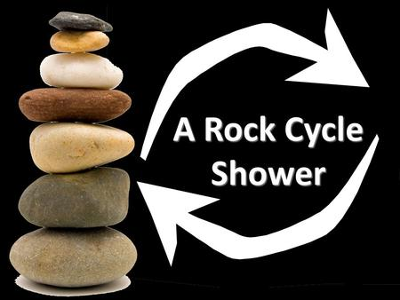 A Rock Cycle Shower. Depositional Environment sandstone Sedimentary Rocks oldest youngest.