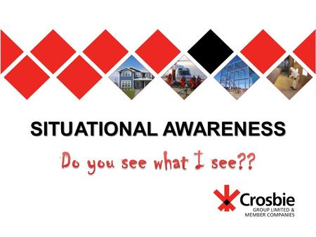 "SITUATIONAL AWARENESS. ""Think S.M.A.R.T before you S.T.A.R.T"""