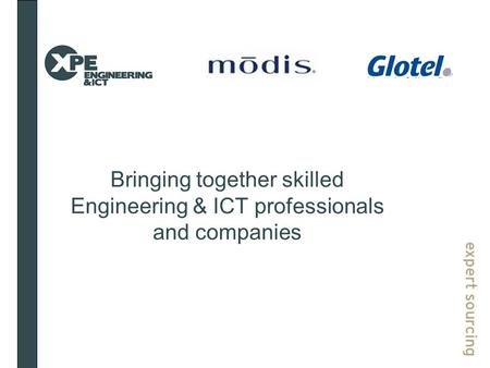 Bringing together skilled Engineering & ICT professionals and companies.