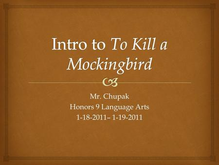 to kill a mockingbird bildungsroman Yes, in many ways it is a coming-of-age story, especially for scout and jem the novel covers several years of their lives as they undergo trials that shape them.