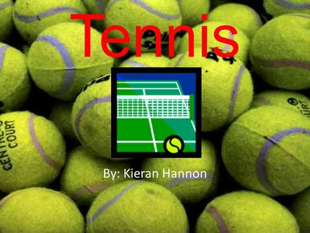 Tennis By: Kieran Hannon. 24.96' 47.43' The area of a singles tennis court is 2,106 ft 2. The area of a doubles court is 2,808 ft 2 53.08' 78'