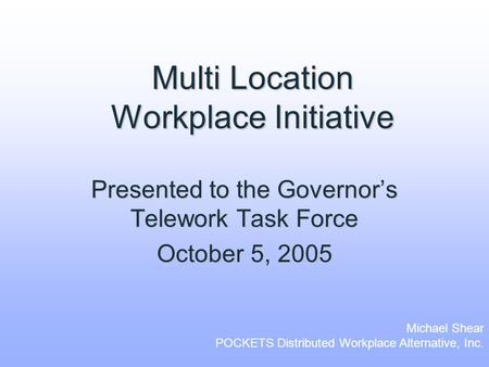 telecommuting telework persuasive executive summay Executive summary i deciding on an appropriate approach to telework 44 summary of implementation to support or deny employees' requests to telecommute on.