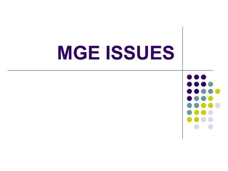 MGE ISSUES. 2 ENERGY 2015 MGE's plan to meet the energy needs of our customers Solicit customer input Community Energy Conversations.