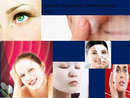Cosmetic Application (Nanocellulose Pack). Vascular Prostheses Made of Cellulose-Polyurethane.