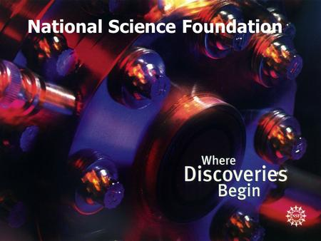 National Science Foundation. Seeking Doctoral Dissertation Support from the National Science Foundation: Do's and Don'ts Program Officer Political Science.