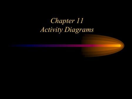 "Chapter 11 Activity Diagrams. 2 ""Activity diagrams are a technique to describe procedural logic, business processes, and work flows"" - M. Fowler An activity."