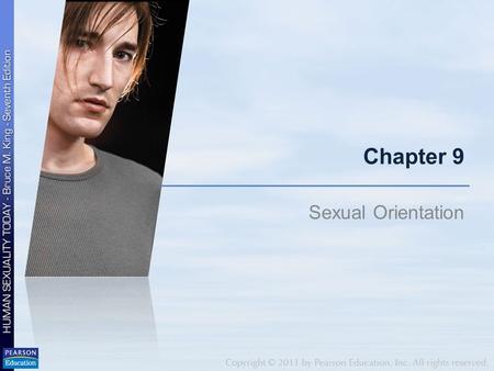 Chapter 9 Sexual Orientation. What is your definition?