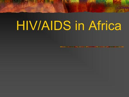 HIV/AIDS in Africa What is the difference between HIV and AIDS? HIV is the human immunodeficiency virus that causes AIDS. AIDS (acquired immunodeficiency.