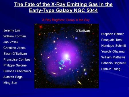 The Fate of the X-Ray Emitting Gas in the Early-Type Galaxy NGC 5044