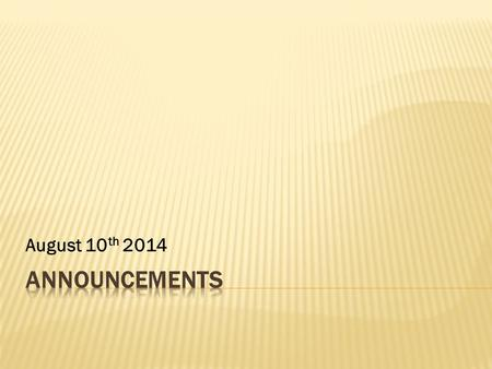 August 10 th 2014. Tuesday : 5 -7a.m (Abouna Yacob Nadian will bless us) Friday : 11a.m -1:00p.m Saturday : No Liturgy Sunday : 8:00 –11:30a.m الثلاثاء.