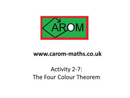 The Four Colour Theorem