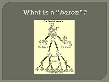  Robber barons were feudal lords in the Middle Ages who owned land along the Rhine River in Europe.