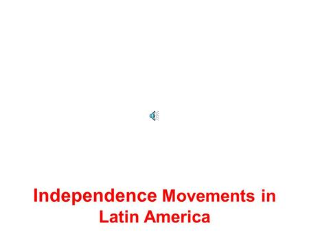 Independence Movements in Latin America Latin American Geography Latin America is made up of countries from North America, Central America, South America.