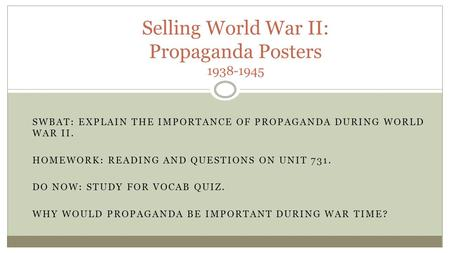 """the important role of propaganda during times of war Propaganda or so-called """"psy-ops"""" is not a new phenomenon in warfare  the  global war of narratives and the role of social media  on the ground  demonstrating the importance of social media also as a  in an era characterized  by the fight for global values, social media have the potential to tip a conflict."""