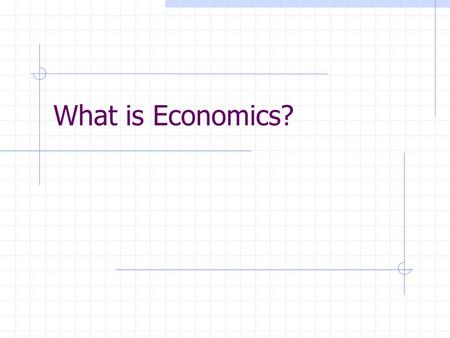 What is Economics?. I. What is Economics? A. Definition: Economics is a social science that deals with how consumers, producers, and societies choose.