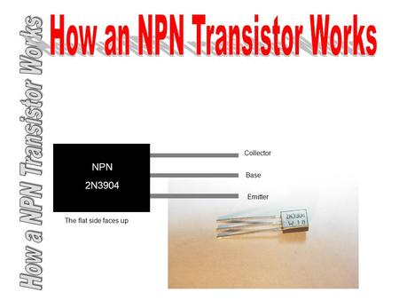 How an NPN Transistor Works