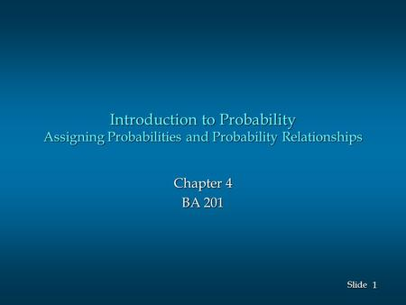 introduction to counting and probability