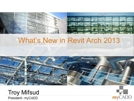 What's New in Revit Arch 2013