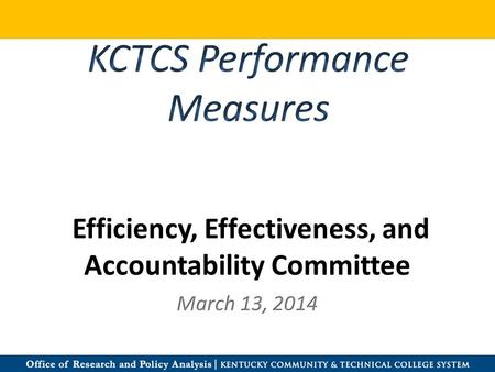 Efficiency, Effectiveness, and Accountability Committee.