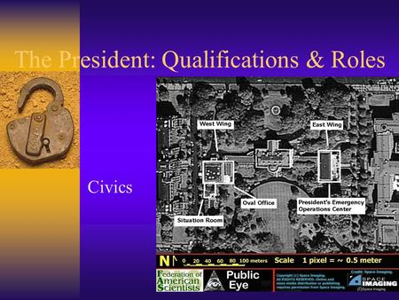 The President: Qualifications & Roles Civics. Terms and Salary  Two, four-year terms: 22 nd Amendment  Pay: $400,000 + annually  Other perks: no expenses,
