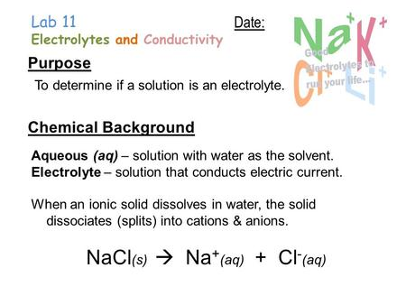 conductivity of electrolyte solutions