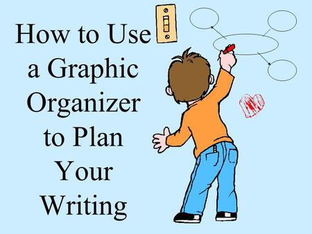 How to Use a Graphic Organizer to Plan Your Writing.