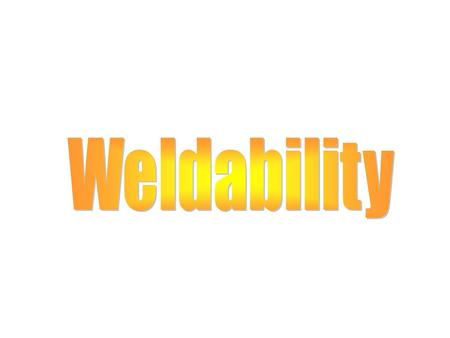 Spot weldability Lesson Objectives When you finish this lesson you will understand: Concept of Spot Weldability Electrode arrangements Learning Activities.