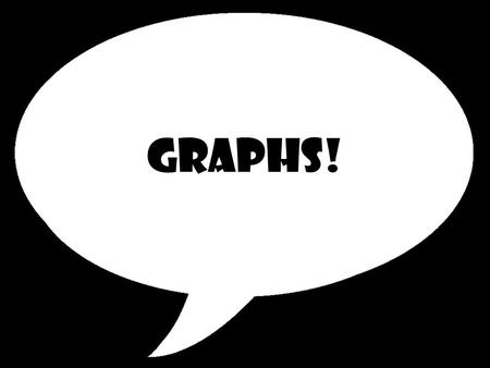 Graphs!. What are graphs??? A pictorial device, such as a pie chart or bar graph, used to illustrate quantitative relationships. Also called chart.