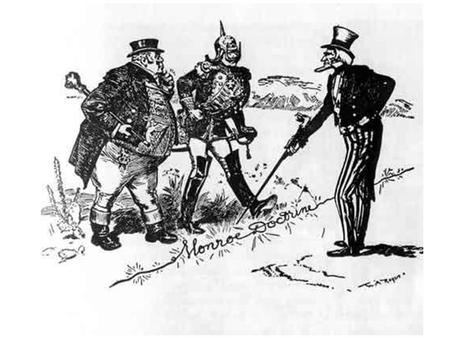 Monroe Doctrine Early 1800s in Latin America was a period of revolution and liberation. Chile, Venezuela, Mexico and Brazil have gained their freedom.