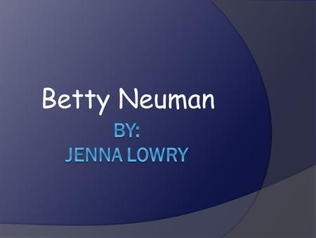 Betty Neuman. Betty Neuman, RN, BSN, MSN, PhD, FAAN.