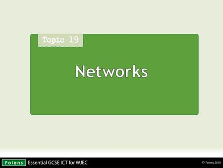 Networks. What is a computer network? A network is two or more computers that are linked together so that they are able to share resources.