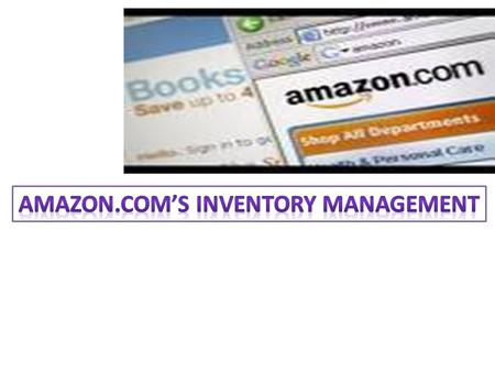 AMAZON OVERVIEW Founded in 1994; Started selling books online and now operate Web sites that offer various products and services, which include: music,