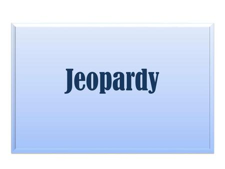 Jeopardy. Overview of Chapter Consumer Buying Rate Sources of Ideas Product Development process Product Launch Factors 10 20 30 40.