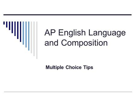ap english language and composition analysis essay Writing is central to the ap english language and composition courses and exams.