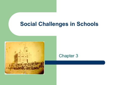 Social Challenges in Schools Chapter 3. Learning Outcomes Understand the benefits to whites by being members of the dominant group Respect differing family.