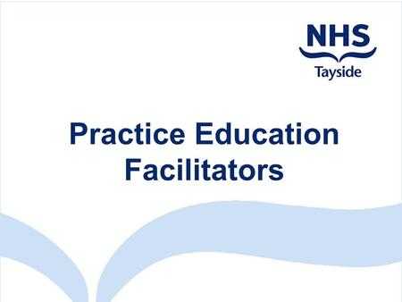 Practice Education Facilitators. Quality Standards for Practice Placements (NES 2003)