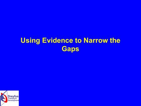Using Evidence to Narrow the Gaps. What is the Education Endowment Foundation? In 2011 the Education Endowment Foundation was set up by Sutton Trust as.