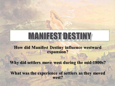 western expansion dbq Dbq: impact of westward expansion on native americans and the role of government directions the following question requires you to construct a coherent.