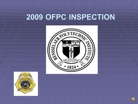2009 OFPC INSPECTION SUMMARY of VIOLATIONS 2006-2008 We Need Your Help for the 2009 Inspection!