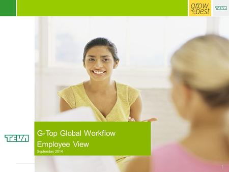 Human Resources 1 G-Top Global Workflow Employee View September 2014.